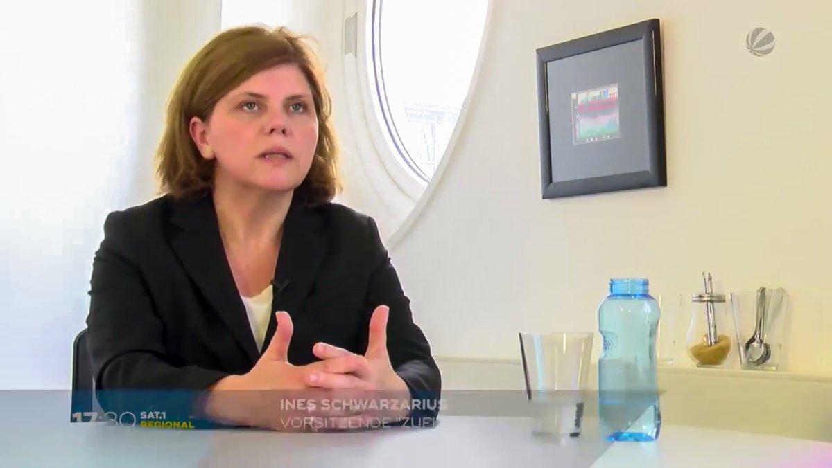 Ines Schwarzarius, Projektleitung ZuFlucht