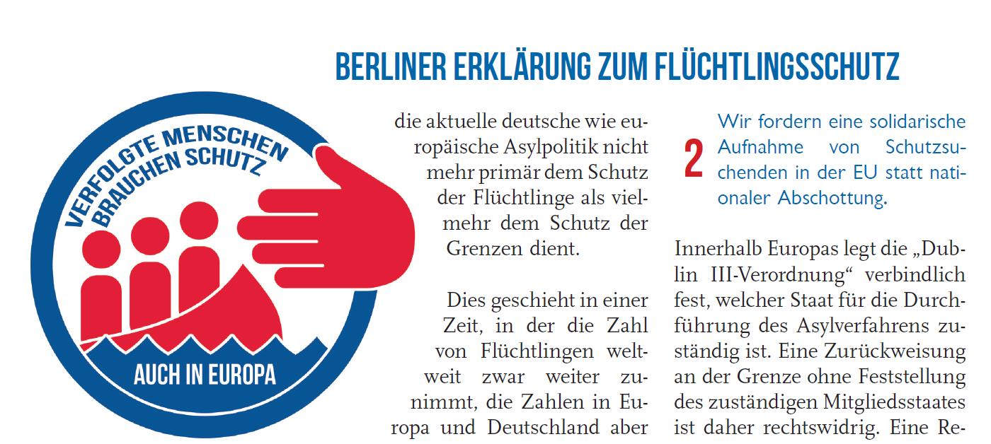 Screenshot Berliner Erklärung